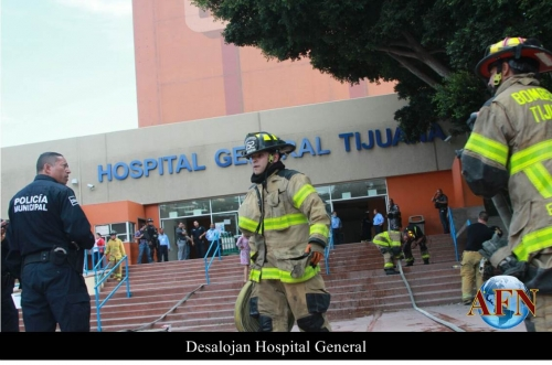 Conato de incendio en el Hospital General
